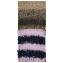 Raf Simons Brown Extreme Long Slim Scarf 202-844