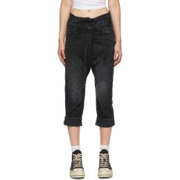 R13 Black Staley Cross-Over Jeans R13W8006-394