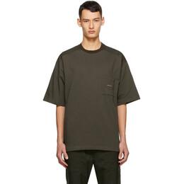 Oamc Green I.D. T-Shirt OAMR702060