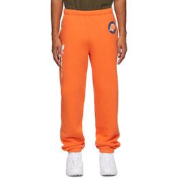 Heron Preston Orange Techno Lounge Pants HMCH014F20JER0012201