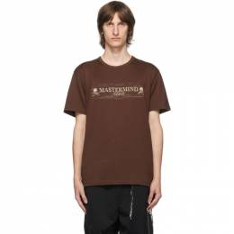 Mastermind World Brown Noise T-Shirt MW20S05-TS069-018