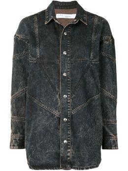 Iro джинсовая куртка с эффектом потертости WP18VALTA