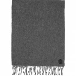 Mackage Grey Wool Luki Scarf LUKI