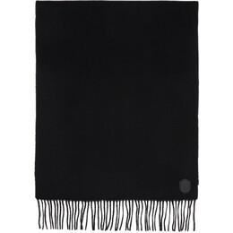 Mackage Black Wool Luki Scarf LUKI