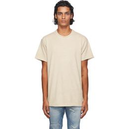 John Elliott Taupe Anti-Expo T-Shirt A120M14593A