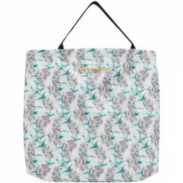 Charles Jeffrey Loverboy White Large Blooms Tote Bag CJLAW20LTB
