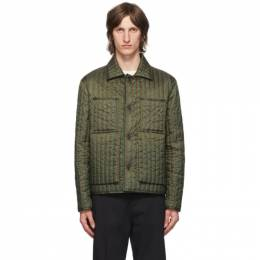 Craig Green Green Quilted Worker Jacket CGAW20CWOJKT08