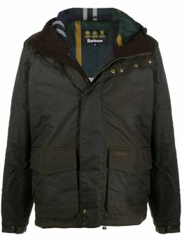 Barbour single-breasted wax jacket MWX1718MWX