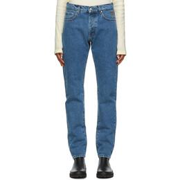 Nanushka Blue Ilya Jeans NM20PFPA00553