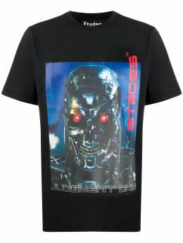 Etudes футболка Wonder Terminator с круглым вырезом E17S429JD4