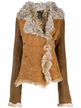 Ann Demeulemeester куртка с меховой подкладкой 20023204P290