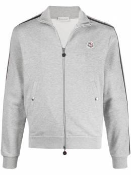 Moncler спортивная куртка с полосками и логотипом F20918G75300V8162