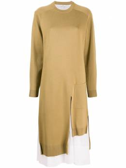 Tibi трикотажное платье F120MW6310