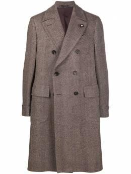 Lardini двубортное пальто IM23191IMA55624