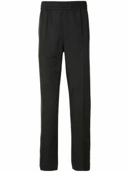 Salvatore Ferragamo прямые брюки с эластичным поясом 143342