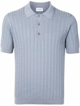 Salvatore Ferragamo трикотажная рубашка поло с короткими рукавами 121863