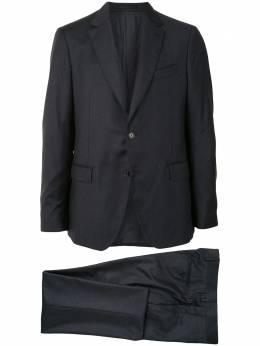 Salvatore Ferragamo полосатый костюм с однобортным пиджаком 142749