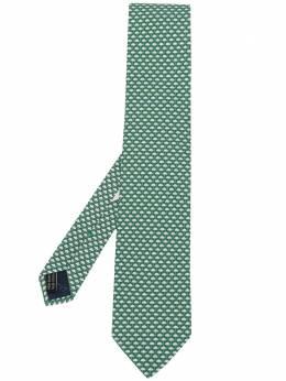 Salvatore Ferragamo галстук с принтом 732995