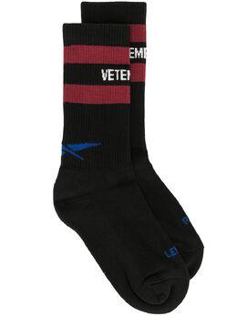 Vetements носки с логотипом UAH21HO305