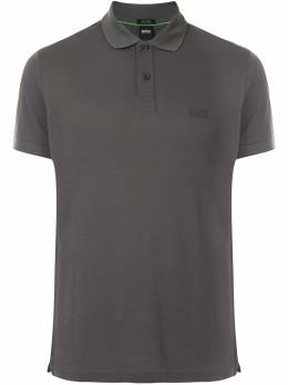 Boss by Hugo Boss рубашка поло с вышитым логотипом 50388956