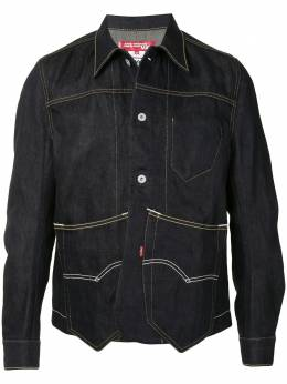 Junya Watanabe Man contrast stitch western shirt WFJ911100