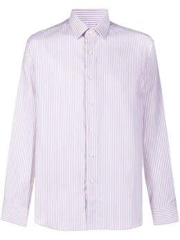 Canali striped long-sleeve shirt NXA1GR01919