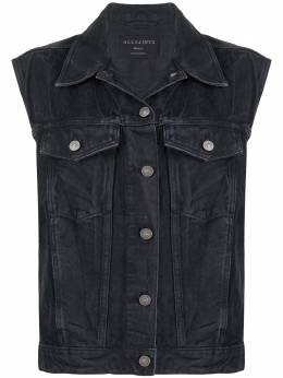 Allsaints джинсовый жилет Alva ALVAWO132S