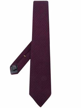 Canali галстук с узором 18HX02936