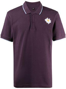 MCQ by Alexander McQueen рубашка поло с вышитым логотипом 624755RPT77