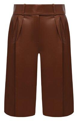 Кожаные шорты Alexandre Vauthier 203LPA1300 0404