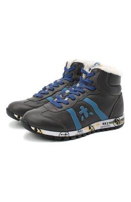 Высокие кроссовки Premiata Will Be ADAM-M/M0081312/JUN