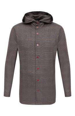Шерстяная рубашка Kiton UMCPETEK01X4907