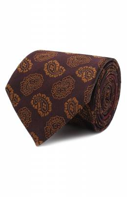 Шелковый галстук Zegna Couture Z8C02/15C