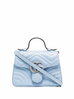 Gucci сумка GG Marmont с верхней ручкой 547260DTDIP