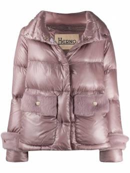Herno куртка с оторочкой из искусственного меха PI1137D12017