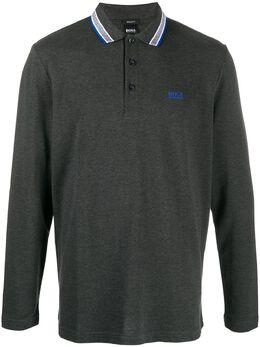 Boss by Hugo Boss рубашка поло с отделкой в полоску 50272945