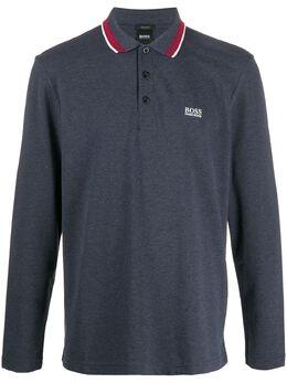 Boss by Hugo Boss stripe-trim polo shirt 50272945