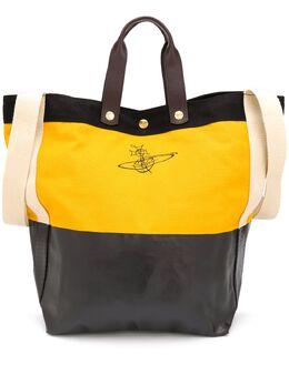 Vivienne Westwood logo print bucket tote bag 4204001111415ET