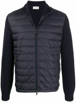 Moncler quilted zipped cardigan F20919B50700A9341