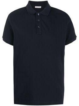 Moncler рубашка поло с короткими рукавами F20918A7051084556