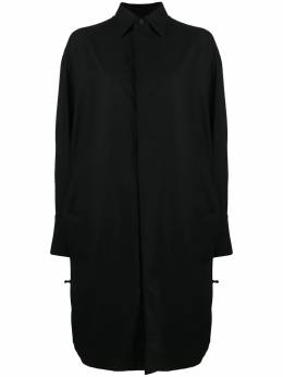 Y-3 ruched cut-out shirt GK4412