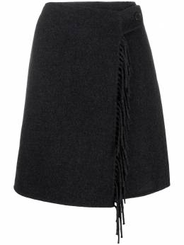 P.a.r.o.s.h. юбка мини с бахромой LEAKD620607
