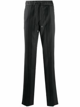Etro полосатые брюки с кулиской 1W6630085