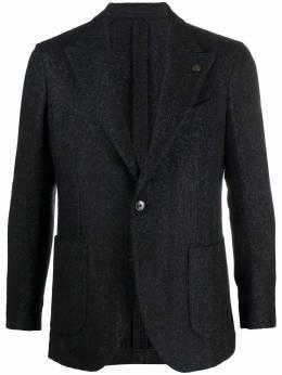 Gabriele Pasini однобортный пиджак с узором шеврон G1608654GP16463