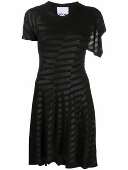 Koche платье со вставками в полоску SK1CT0005S23742