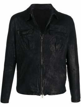 Salvatore Santoro куртка с жатым эффектом 39501