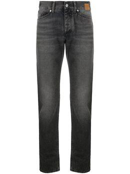 Palm Angels straight-leg mid-rise jeans PMYA027F20DEN0031010