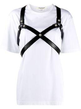 Junya Watanabe рубашка с ремешком JFT002W20