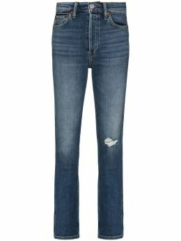 Re/Done '80s distressed straight leg jeans 1903W8SS