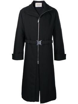 1017 Alyx 9Sm пальто миди на молнии с поясом AAMOU0147FA02BLK0001